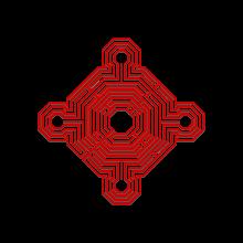 220px logo monument historique rouge ombre encadre svg