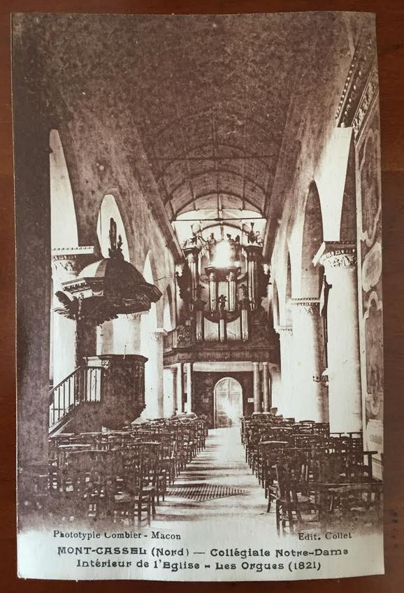 Capture collegiale orgues