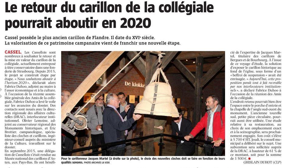 Carillon retour