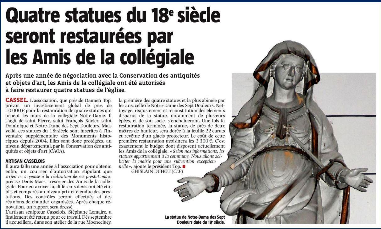 Statue x 4
